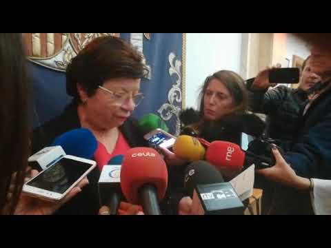 """La delegada del Gobierno ha hecho balance este domingo del desarrollo de los comicios generales y se ha referido al resultado en la ciudad como """"un di"""