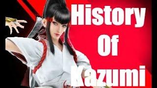 History Of Kazumi Mishima Tekken 7