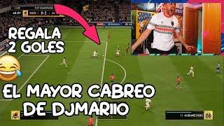 EL MAYOR CABREO DE DjMaRiiO EN FIFA 19