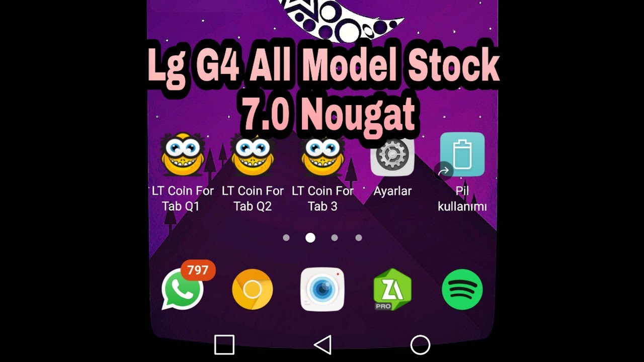 LG G4 7 0 NOUGAT FRİMWARE ROM MODEM (GSM) İS ON AVAİLABLE (All Model v29a)