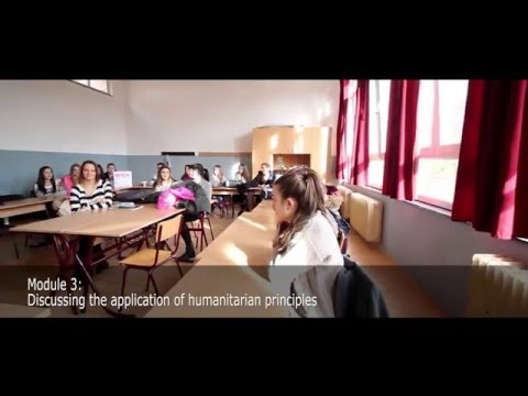 Project Humanity at the Philology High School, Belgrade, Serbia