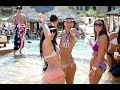 IBIZA Jet pool and  Beach Party Sexy Girls