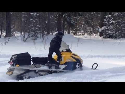 Снегоход BRP Ski-Doo Tundra LT 550F (2 Часть)