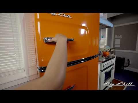 Big Chill Original Fridge (Orange) Tour