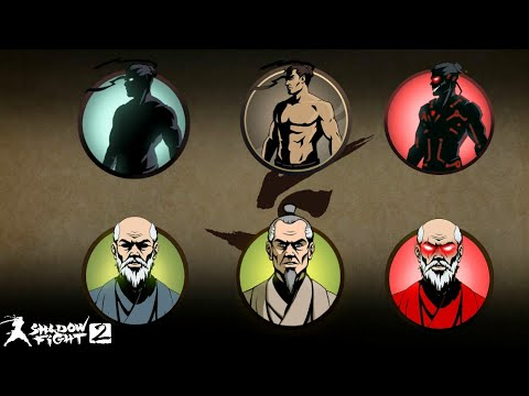 3 Shadow Forms Vs 3 Sensei Forms Shadow Fight 2