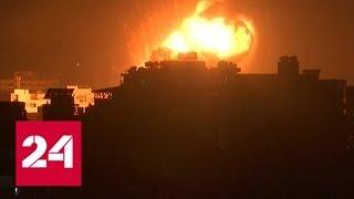Армия обороны Израиля ответила на ракетный обстрел из сектора Газа - Россия 24