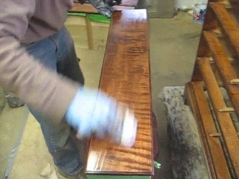 Finishing A Curly Maple Chest Of Drawers Thomas Johnson