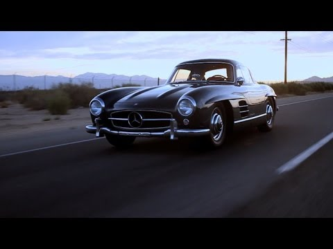 Mercedes 300SL Gullwing - Poetry in Motion