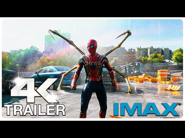 SPIDER MAN NO WAY HOME IMAX Trailer (4K ULTRA HD) NEW 2021