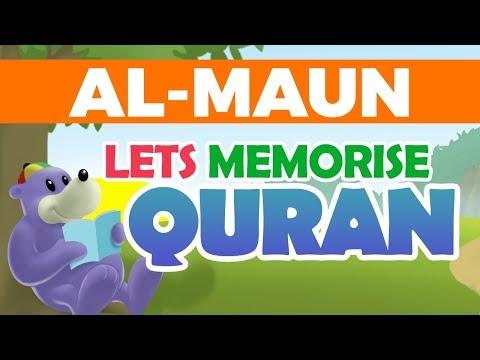 Let's Memorise Quran with ZAKY - SURATUL MAUN