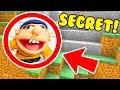 WE FOUND SUPERMARIOLOGAN JEFFY SECRET BASE IN MINECRAFT PE!