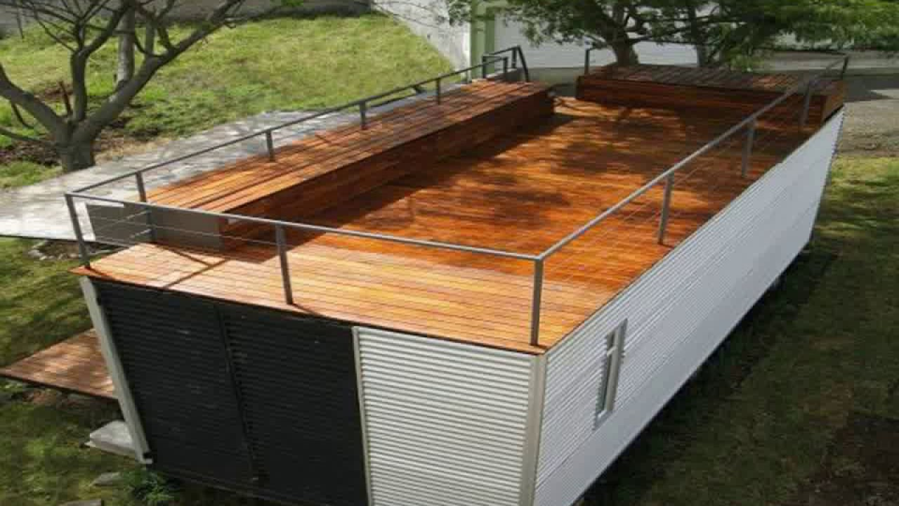 Shipping Container House Roof Shipping Container House