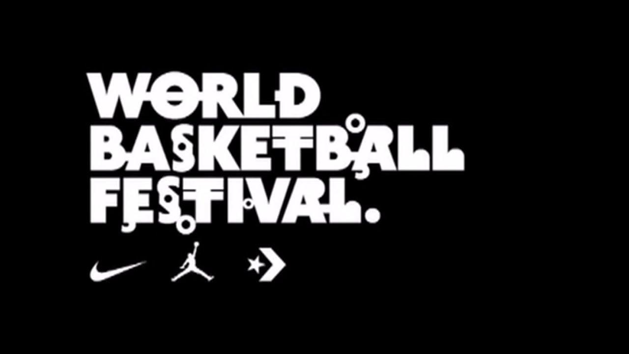 6c6f08f2a6ea Nike World Basketball Festival NYC Day 1 - YouTube