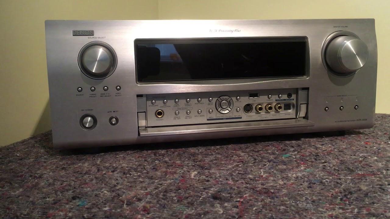 Splinternye How to reset the Denon AVR-3808 AV receiver - YouTube NZ-88