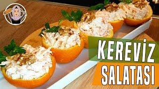 Kereviz Salatası Tarifi-Havuçlu yoğurtlu nasil yapilir-Hatice Mazi
