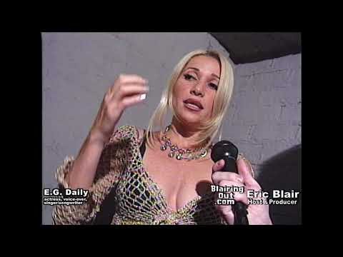 E.G. Daily & Eric Blair talk her Music,Movie & Voice Over Career 1997