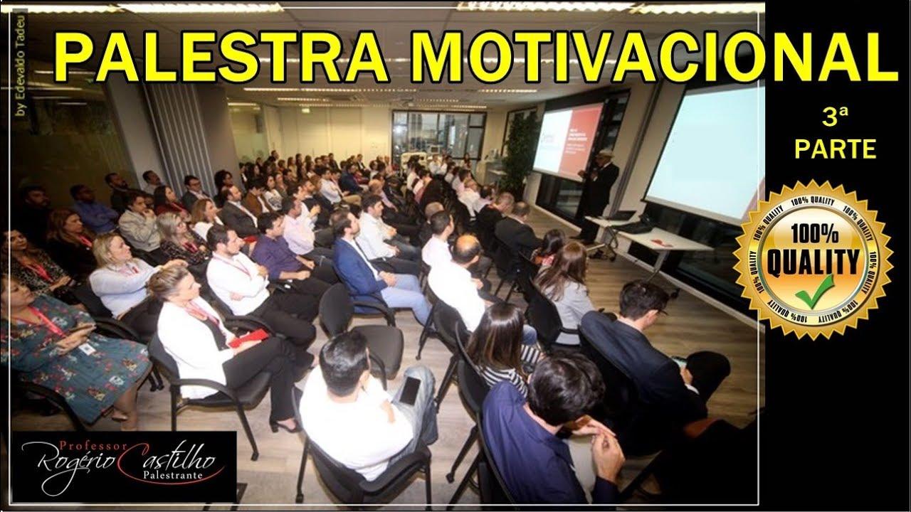 Palestra Motivacional Do Castilho 3