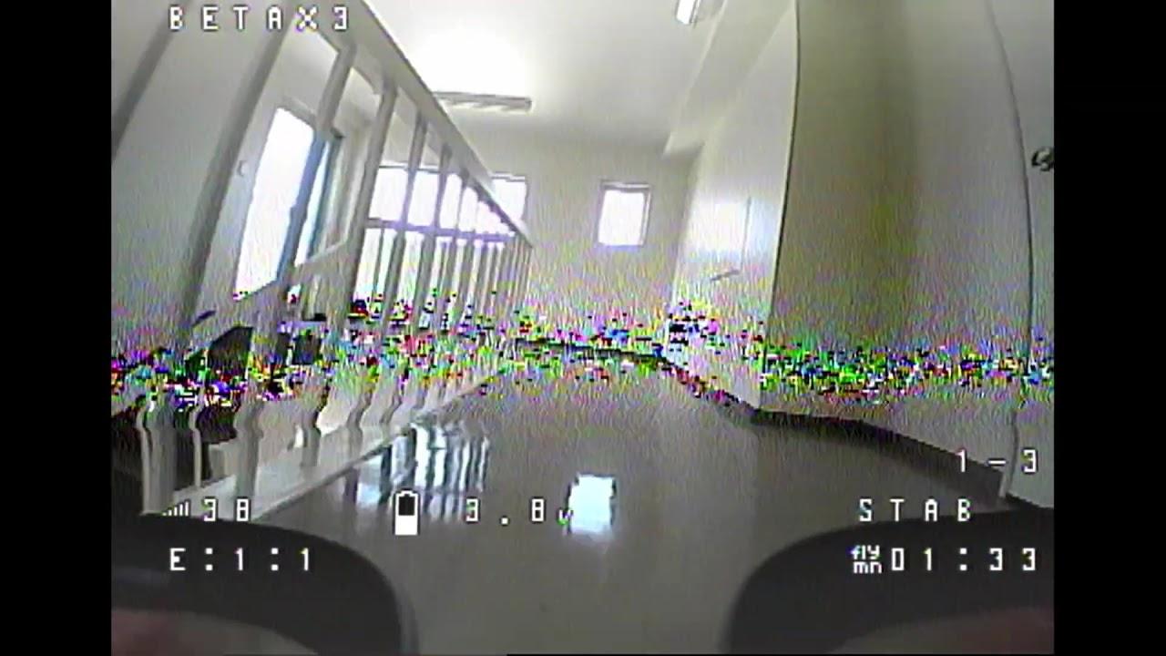 Betafpv meteor65 風 自作機 Test Flight фото