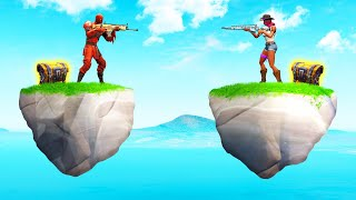 Playing SKY WARS In FORTNITE! (*NEW* GAME MODE) Medium (360p)