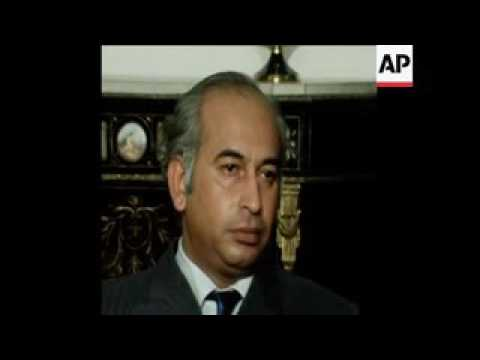 Zulfiqar Ali Bhutto.... Rare TV interviews