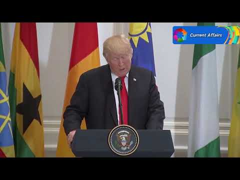 Trump Pronounced 'Nambia' at a Lunch with African Leaders