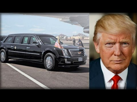 WARBEAST! TRUMP'S PRESIDENTIAL LIMO GETS HARDCORE MILITARY UPGRADES THAT PUTS OBAMA'S TO SHAME