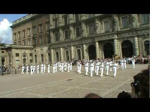 Dancing Queen - Stockholm Aug 2012  -Swedish Navy Cadet Band