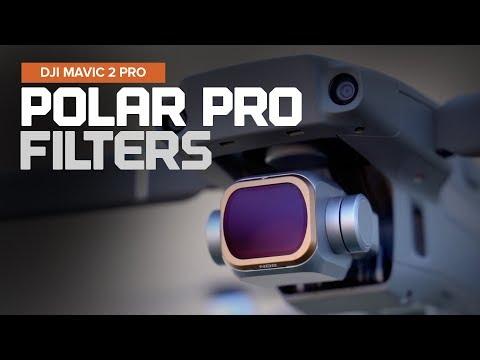 Filtros Vivid Color Negro y Bronce Polar Pro M2P-CS-Vivid Mavic 2 Pro Cinema