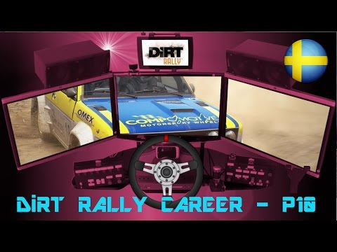 DiRT Rally Career - Part 10 (Fiat 131 Abarth at Sweden)