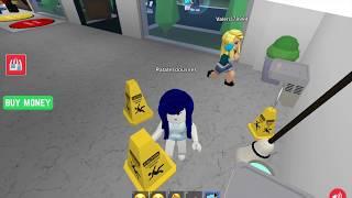 Teen Titans Go Raven arbeitet als Hausmeister in Krankenhaus Simulation in Roblox