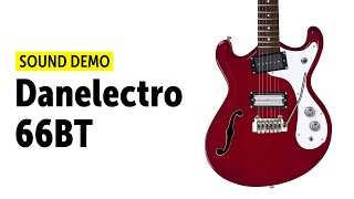 Danelectro 66BT - Sound Demo (no talking)
