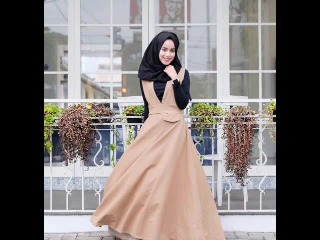 Trend Model Baju Muslim Casual Terbaru 2017 Youtube