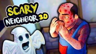 НОВЫЕ ПРАНКИ НАД СОСЕДОМ! Сделал ВСЕ ПАКОСТИ и ОТОМСТИЛ СОСЕДУ Веселая игра Scary Neighbor 3D