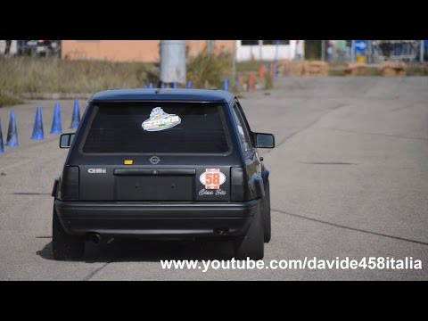 Opel Corsa Gsi Proto Racing On Board W Tabanelli Youtube