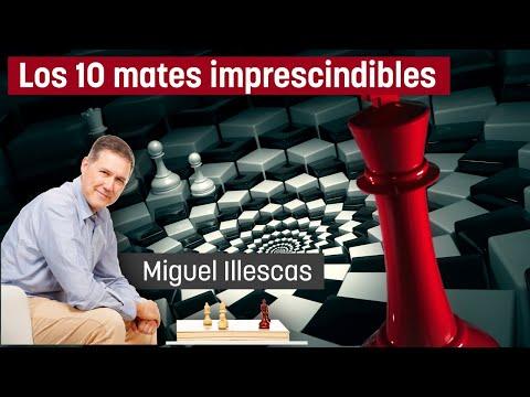 Los 10 Mates imprescindibles #01 (GM Miguel Illescas)