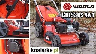 Kosiarka spalinowa World GRL 530S 4w1