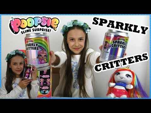 Poopsie Sparkly Critters Unicorn Slime COLLECTION/Μίνι Κούκλα/Princess Tonia Vlog!