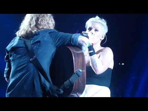 PINK - Time After Time Live At Rod Laver Arena  8/7/13 P!NK