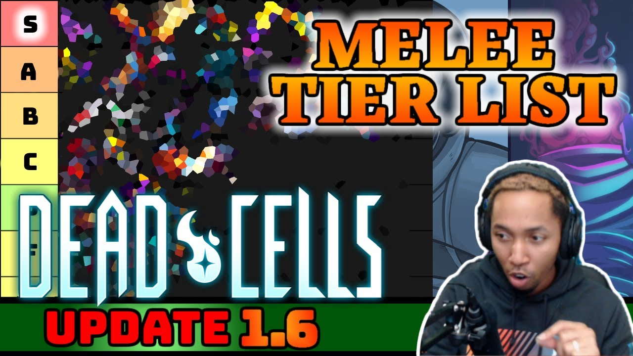[OLD] Dead Cells Update 1.6 BEST WEAPONS – Melee Tier List ! [4BC]