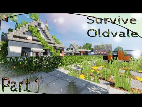 The Town Of Oldvale   A Minecraft Survival Map