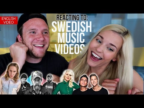 REACTING TO SWEDISH MUSIC VIDEOS
