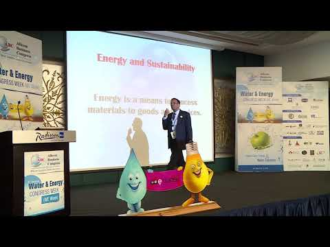 Mr. Sarfraz H  Dairkee at the 3rd Annual Water & Energy Congress