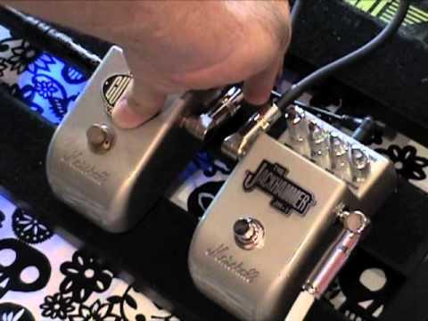 Marshall Gov'nr GV-2+ vs Jackhammer JH-1 overdrive pedal comparison