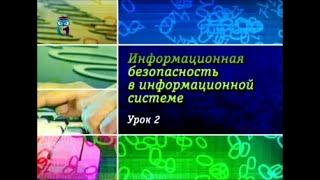 Урок 2. Информационная безопасность и каналы утечка информации