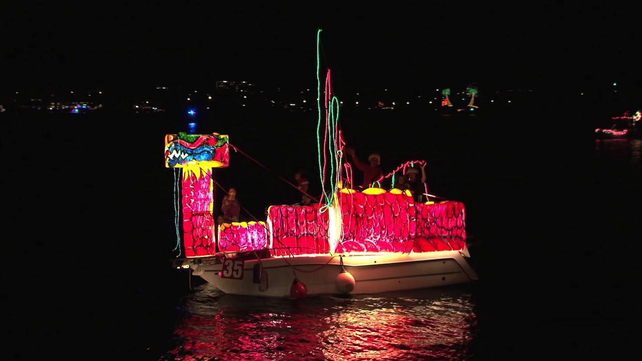 Bermuda Boat Parade 2018 - YouTube