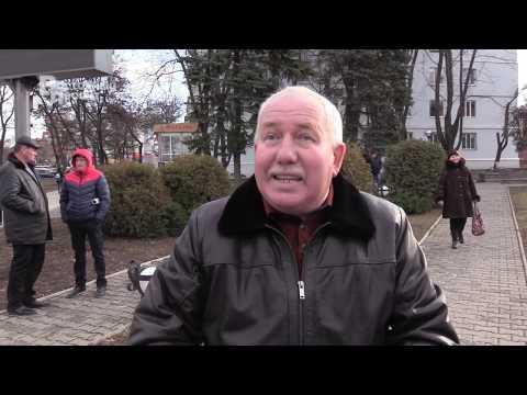Протестующие в Краматорске шахтеры перекрыли движение в Мирнограде