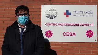"""""""ciò di cui abbiamo bisogno ora sono le dosi #vaccino. con necessarie, c'è una macchina in grado raggiungere tempi certi l'immunizzazione"""".s..."""