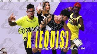 Baixar X (Equis) - Nick Jam x J Balvin [Versión Zumba] - Choreography - Equipe Marreta Coreografia