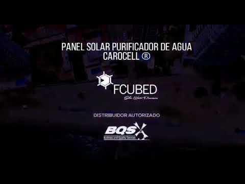 F Cubed Solar Water Purification in Columbia