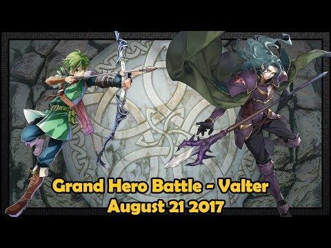 [Fire Emblem Heroes] Grand Hero Battle - Valter - Infernal / 4* No Inheritance (2017-8-21)